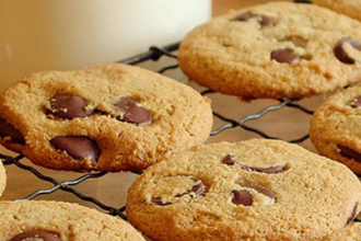Receta Cookies de chocolate