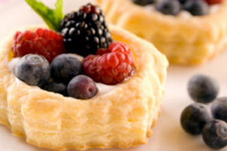 Receta tartaleta de frutas