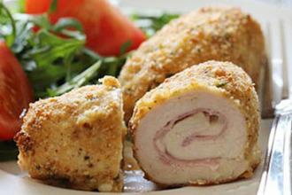 Receta Rollitos de pollo