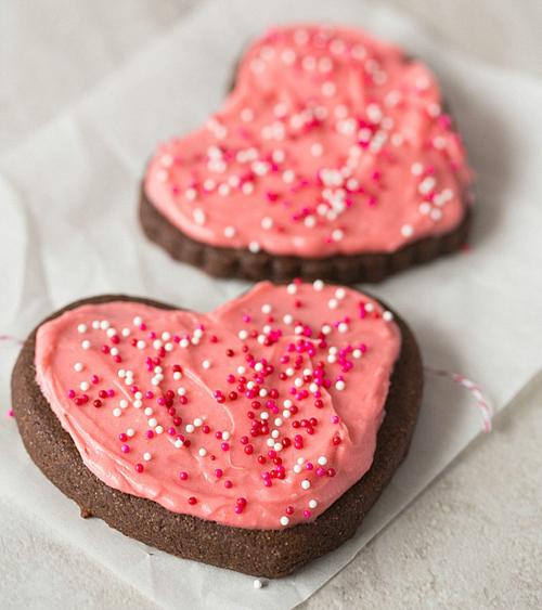 galletas corazón para niños