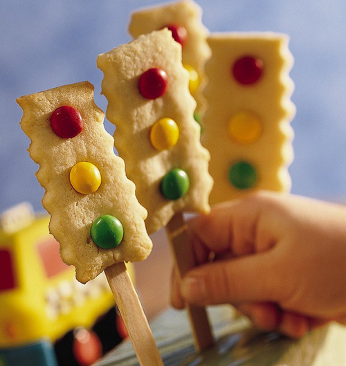 galletas semáforo para niños
