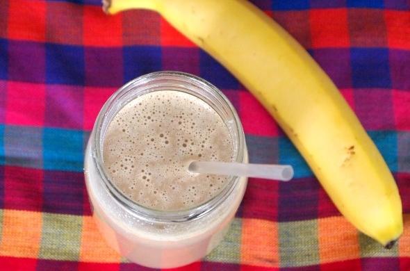 Receta original de batido de plátano