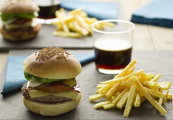 Receta clasica de hamburguesa