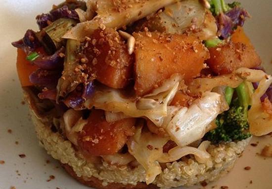 Receta de hamburguesa de arroz