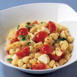 Receta de pasta fresca con tomate