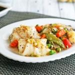 Receta de rollitos de pescado con verduras