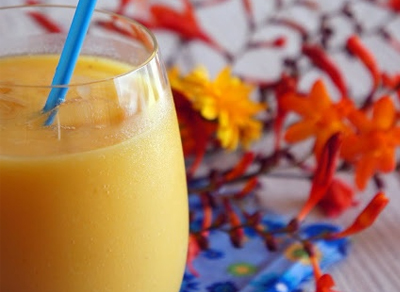 Receta india de batido de mango