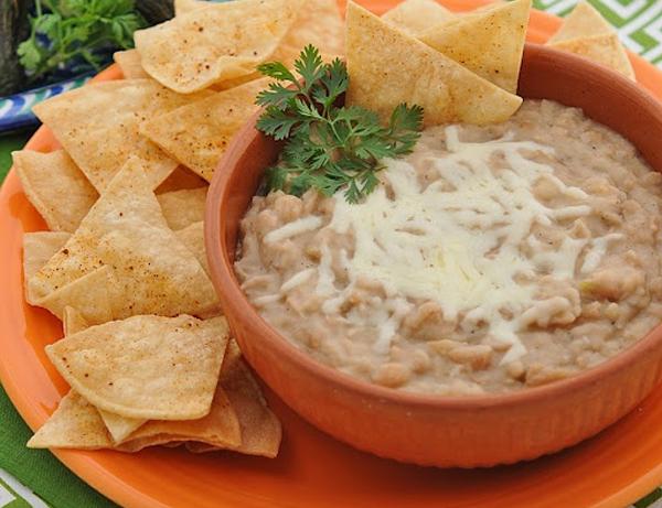 Receta mexicana de frijoles refritos