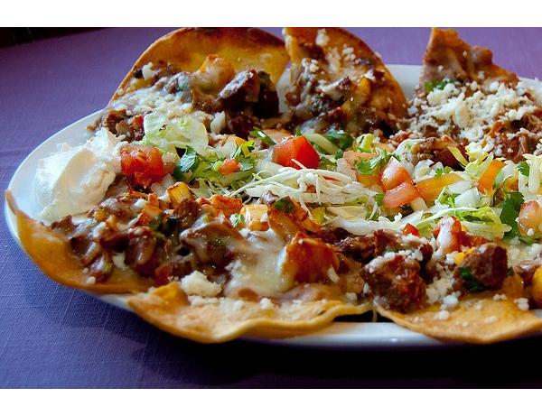 receta mexicana de nachos al pastor