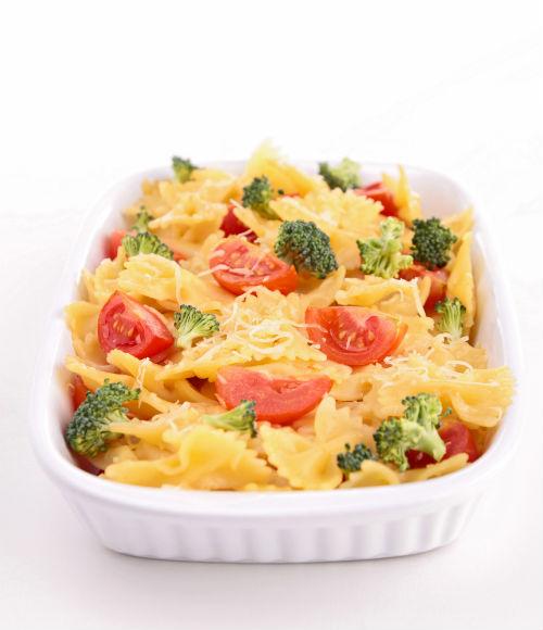 Pasta con verduras