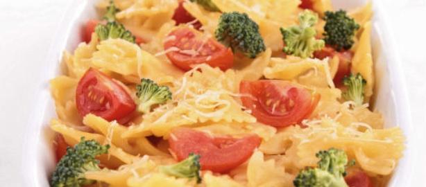 Receta de pasta con verdura