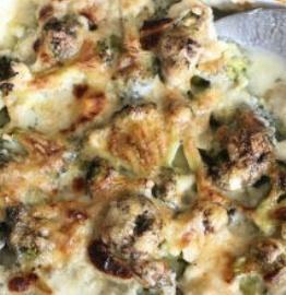 receta de brócoli gratinado
