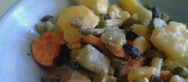 Receta de ensaladilla rusa casera mami recetas for Cocinar ensaladilla rusa