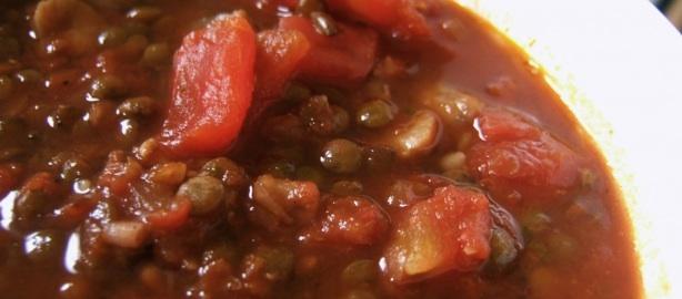 receta de lentejas caseras