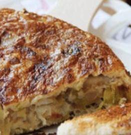 receta de tortilla de bacalao
