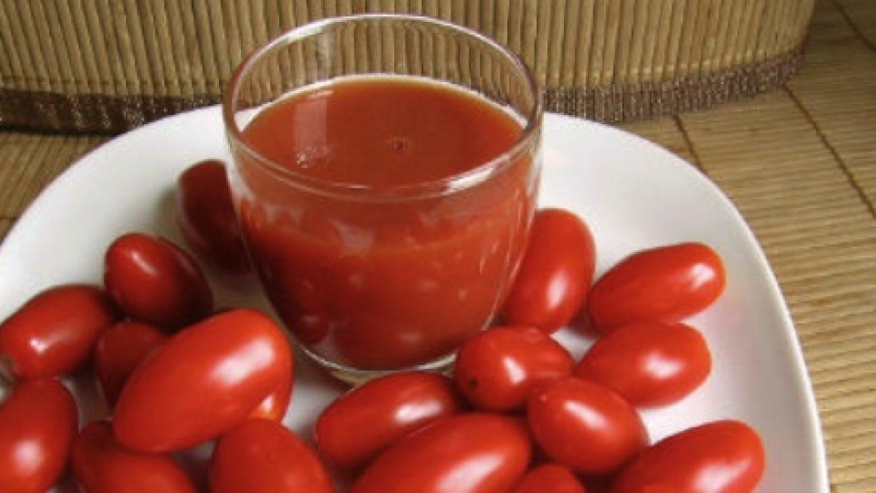 Zumo de tomate natural thermomix