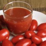 receta de zumo de tomate