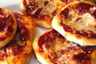 receta lekue mini pizzas