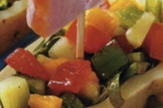 recetas originales ensalada en barquito