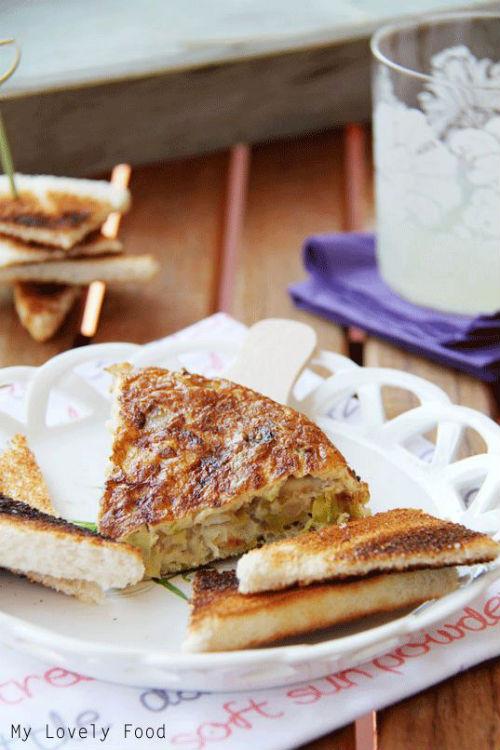 tortilla de bacalao