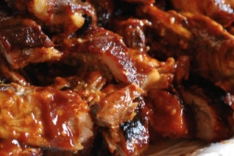 receta de costillas barbacoa newcook
