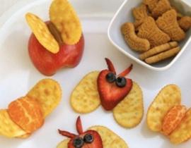 receta de mariposas de fruta