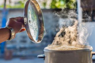 Cómo cocinar arroz al vapor