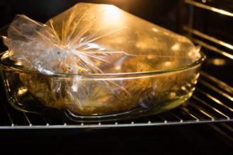 Cómo cocinar carne en bolsas al horno
