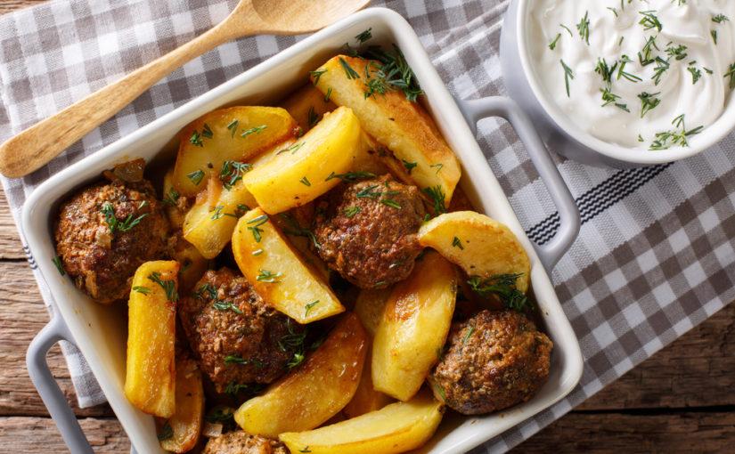 Cómo preparar albóndigas con patatas