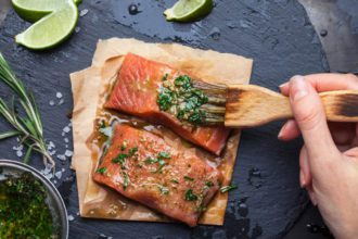 como preparar el salmon