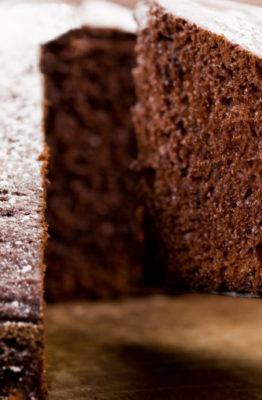 Cómo hacer un bizcocho de chocolate