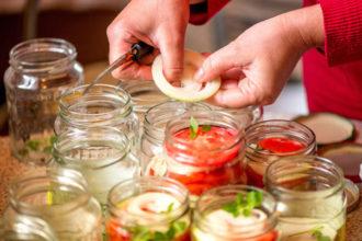 formas de presentar ensaladas de forma original