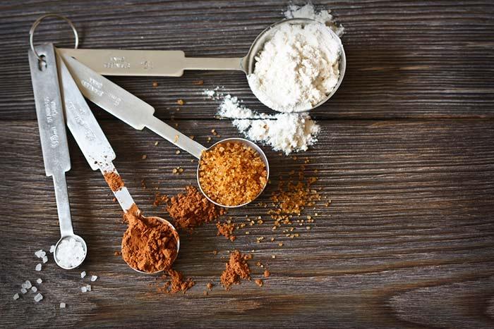 como calcular las raciones de las recetas sin pesarlas