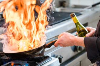 usar licores en las recetas de cocina
