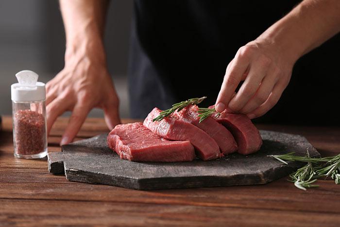 cocinar la carne con tecnicas culinarias