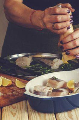 tecnicas culinarias para pescados