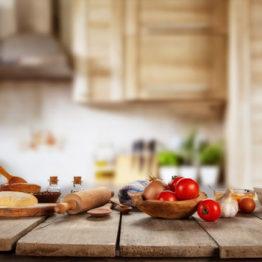calidad de los ingredientes para cocinar