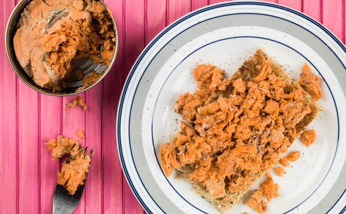 formas de cocinar el salmon en lata