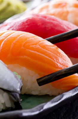 mejores pescados para hacer sushi