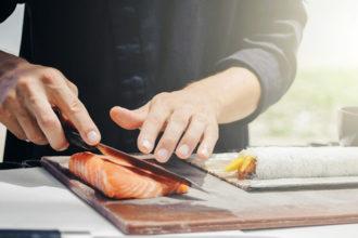 salmon para sushi trucos
