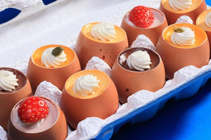 postres con huevo populares