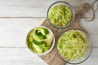como preparar los zoodles o espaguetis vegetales