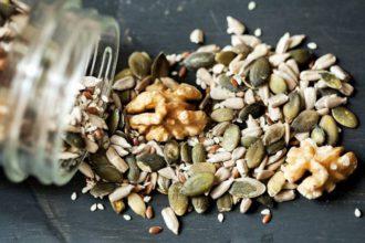 utilizar frutos secos en recetas