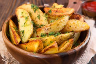 como hacer patatas gajo paso a paso