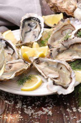 como preparar las ostras