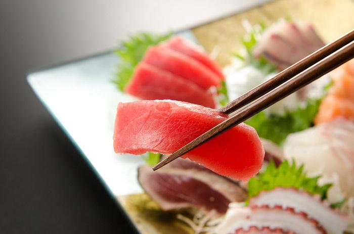 sashimi definicion