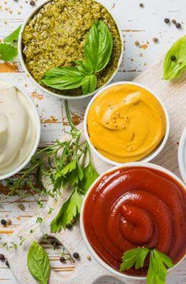 tipos de salsas para hacer en casa