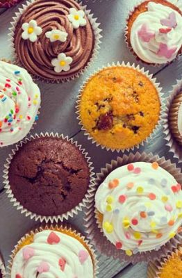 diferencias entre magdalenas muffins cupcakes