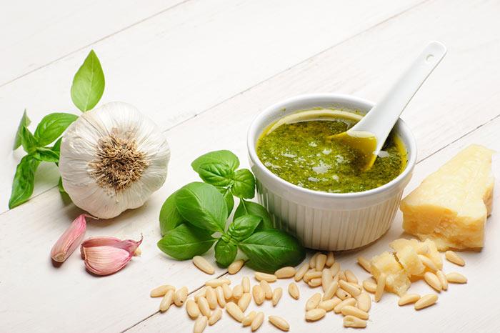aprende a hacer auténtico pesto italiano