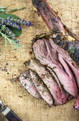 como cortar la carne de caza para cocinar